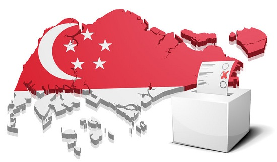 Singapore Election Ballot Box